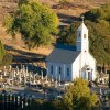 Saint Sava Church and Cemetery in Jackson, California